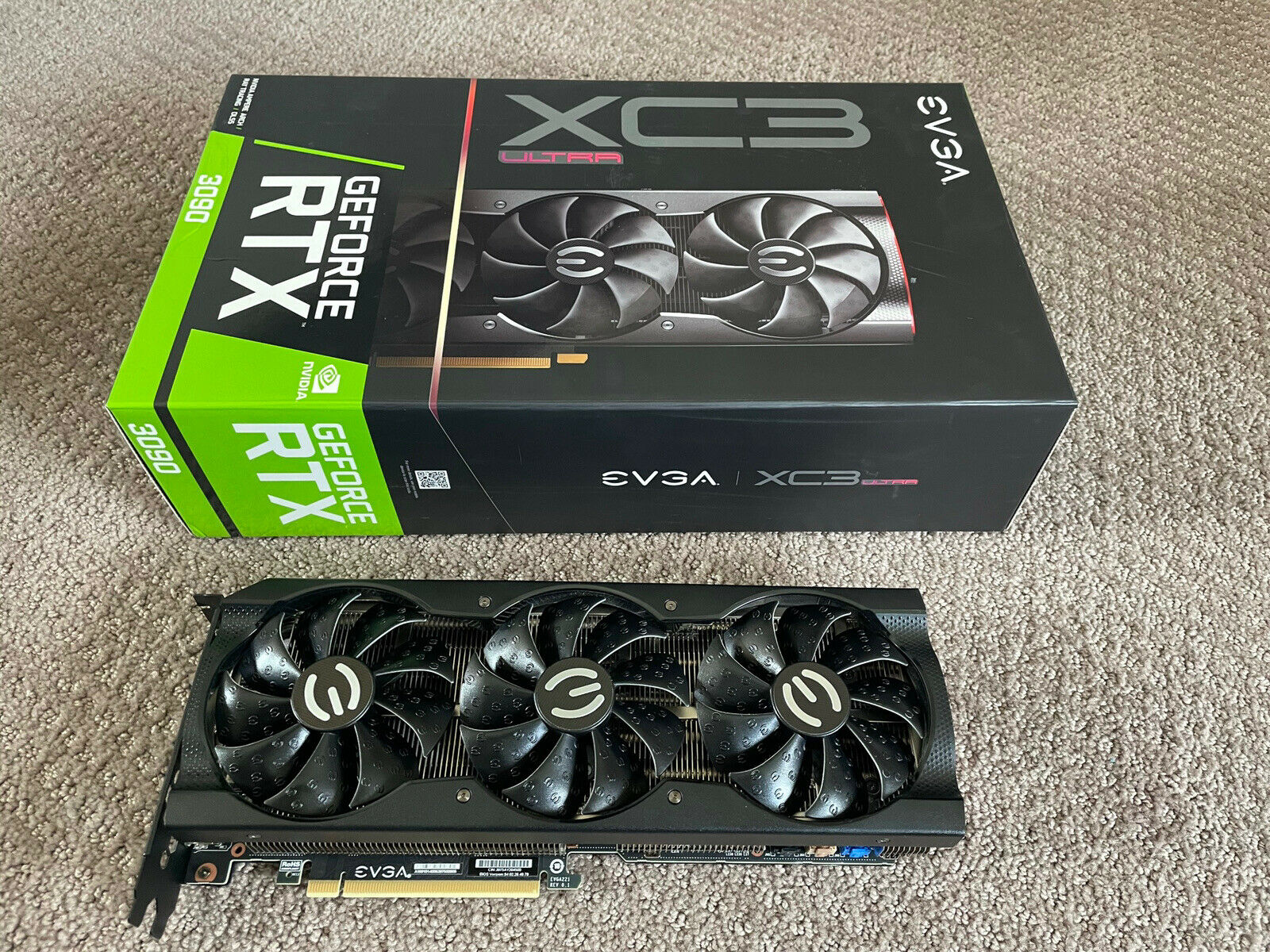 GEFORCE RTX 3090 / RTX 3080 / RTX 3070 / RTX 3060 Ti / RTX 3060 / RADEON RX 6900 XT / AMD Radeon RX 6800 XT / Radeon RX 6700 XT / Radeon RX 5700 XT